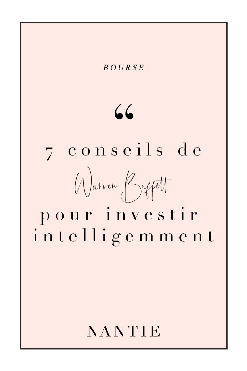 7 conseils pour investir son argent